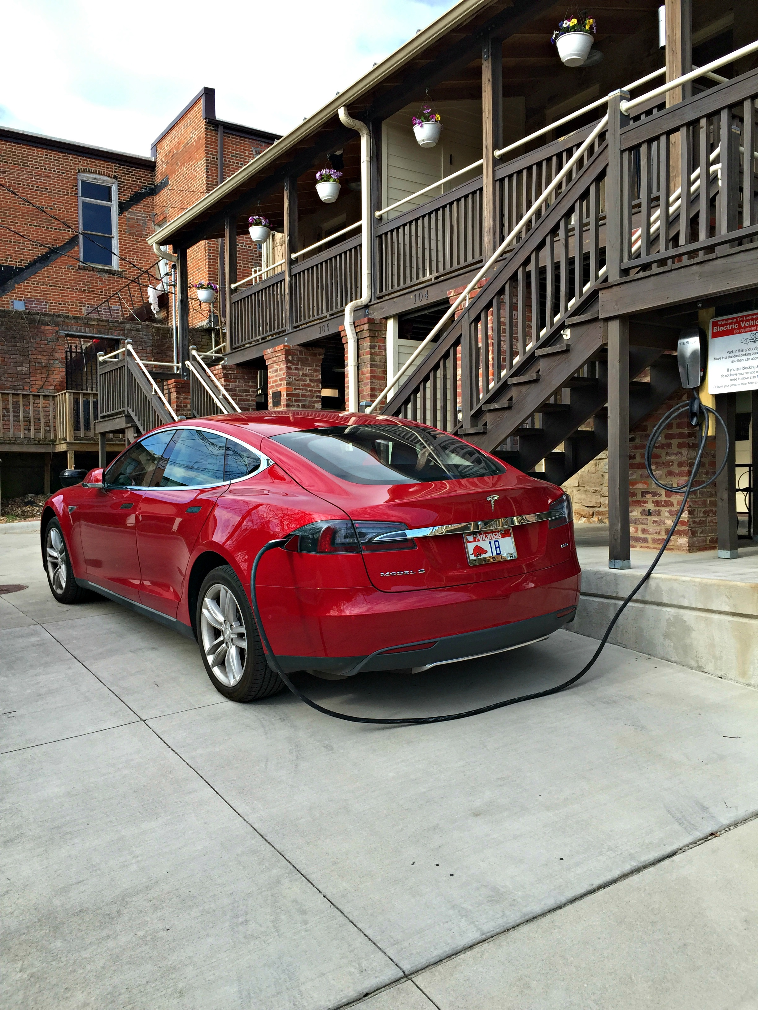 Electric Vehicle Charging Lesmeister Guesthouse Pocahontas Arkansas