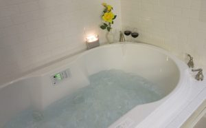 Lesmeister Guesthouse Jeff Thompson Suite spa tub